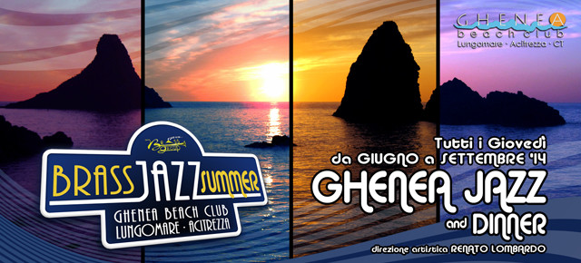 BRASS JAZZ SUMMER… al GHENEA BEACH CLUB